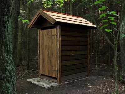 WC v lese